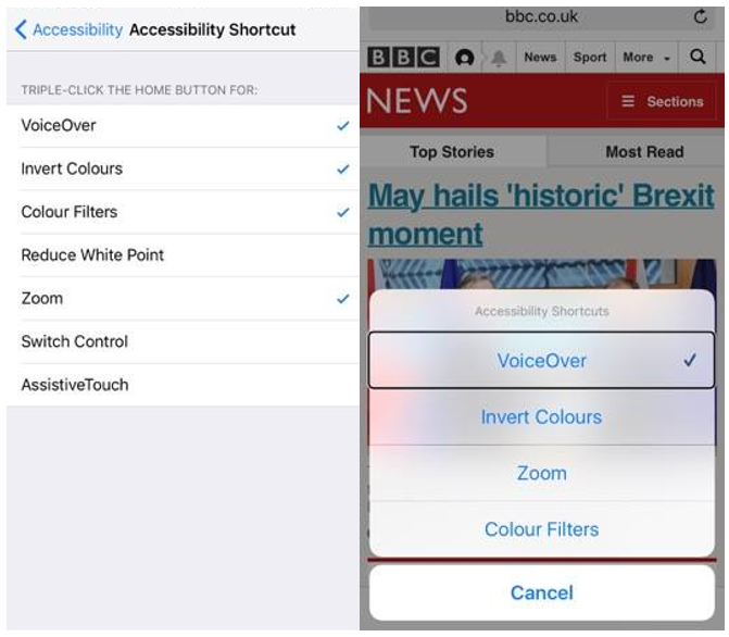 Testing Accessibility on Mobile Devices – 2: Screen reader